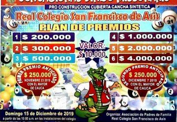 Gran Bingo Navideño 2019